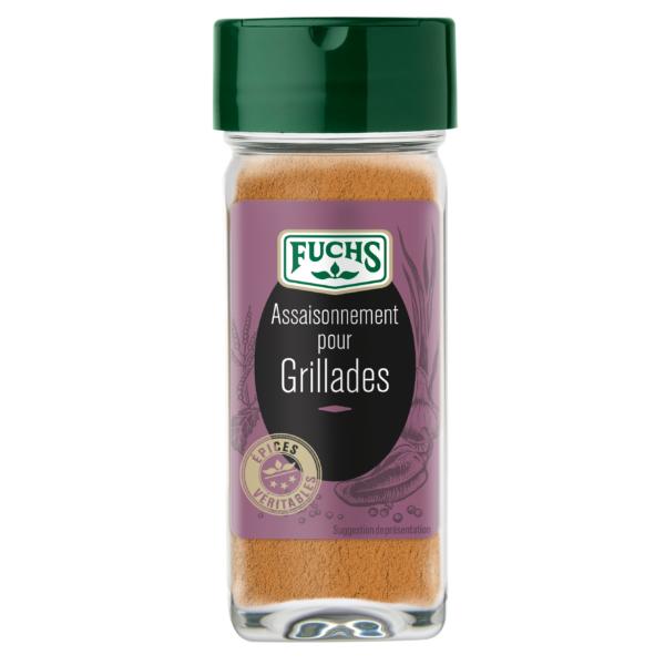 Assaisonnement pour grillades - Flacon - Epices Fuchs