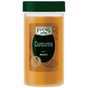 Curcuma moulu - Tubo - Epices Fuchs