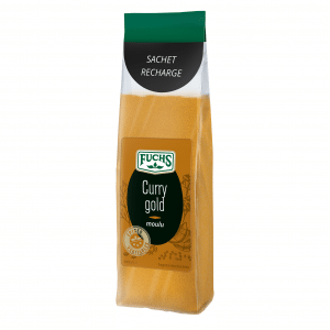 Curry gold moulu - Sachet recharge - Epices Fuchs
