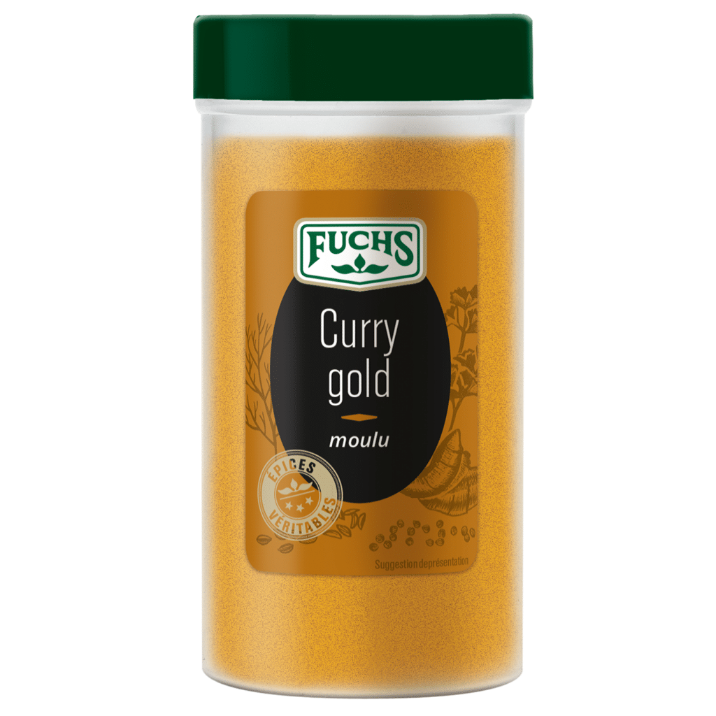 Curry gold moulu - Tubo - Epices Fuchs