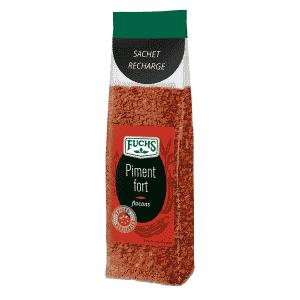 Piment fort flocons - Sachet recharge - Épices Fuchs