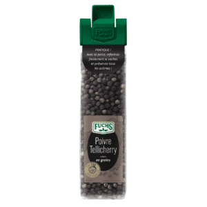 Poivre noir en grains - Sachet Clip - Épices Fuchs