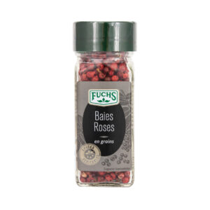 Baies Roses en Grains - Flacon - Epices Fuchs