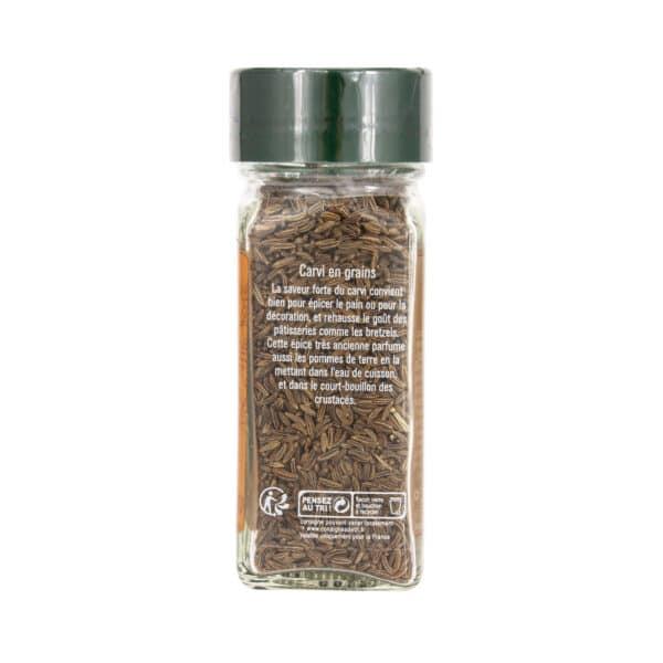 Carvi en grains - Flacon - Épices Fuchs