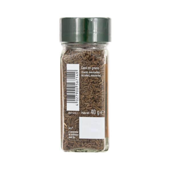 Carvi en grains - Flacon - Épices FuchsCarvi en grains - Flacon - Épices Fuchs