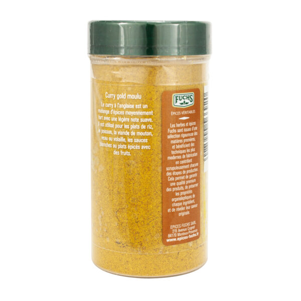 Curry gold moulu - Tubo - Epices Fuchs