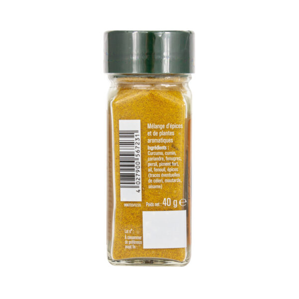 Curry gold moulu - Flacon - Epices Fuchs