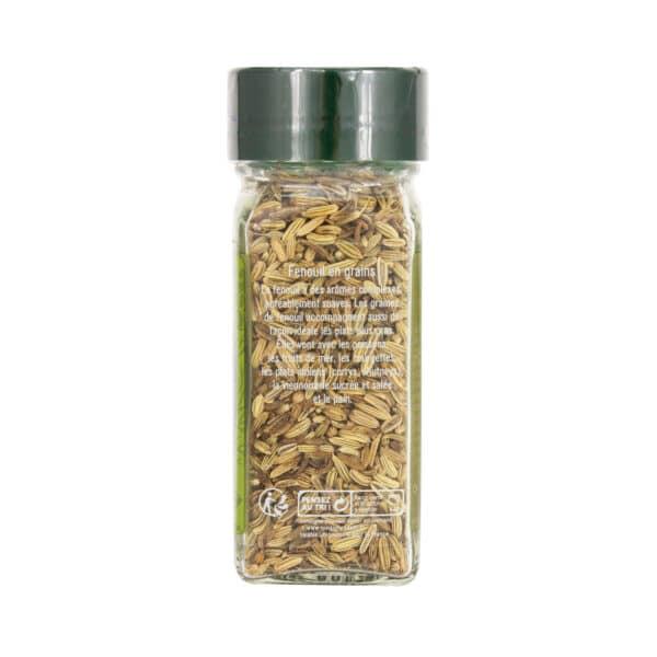 Fenouil en grains - Flacon - Épices Fuchs