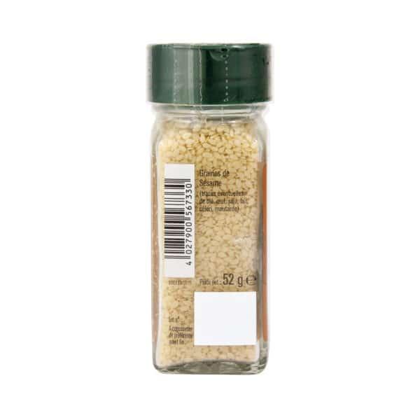 Graines de Sésame - Flacon - Épices Fuchs