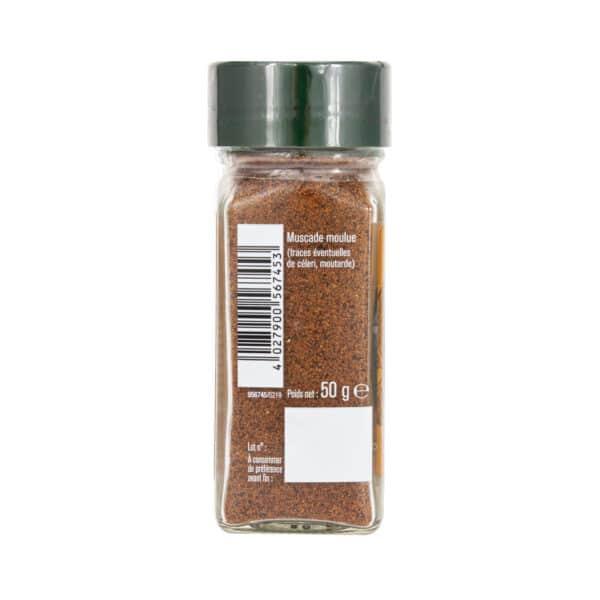 Muscade moulue - Flacon - Épices Fuchs