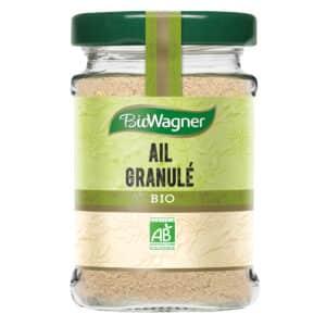 Ail granulé bio - Flacon verre - BioWagner