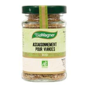 Assaisonnement pour viandes Bio - Flacons - BioWagner