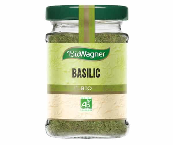 Basilic bio - Flacon verre - BioWagner