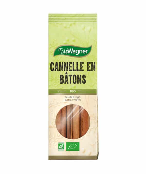 Cannelle en bâtons Bio - Sachet - BioWagner