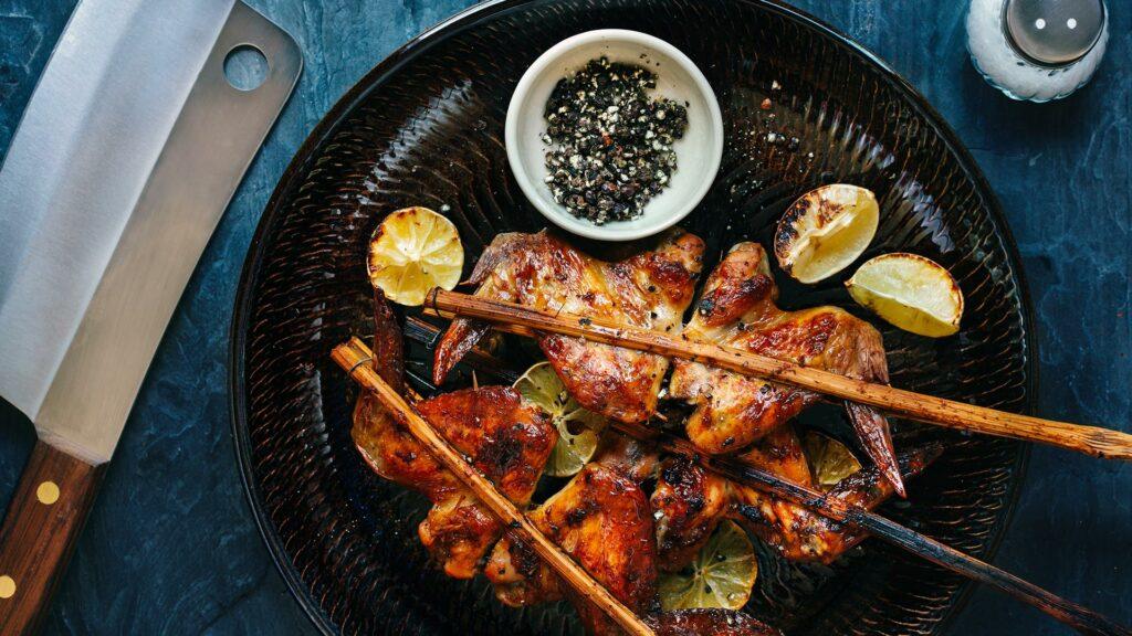 Recette Ailes de poulet dorées à la cannelle