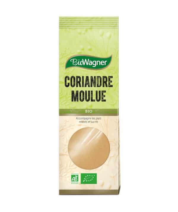 Coriandre moulue Bio - Sachet - BioWagner