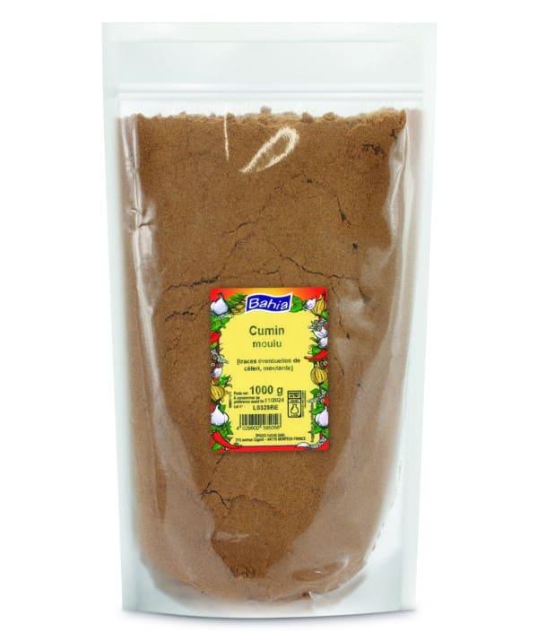 Cumin moulu - Sachet 1kg - Bahia