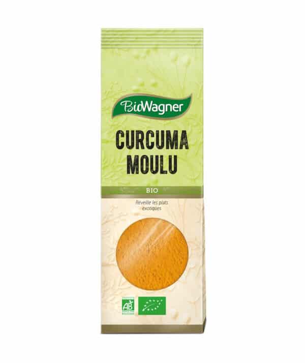 Curcuma moulu Bio - Sachet - BioWagner
