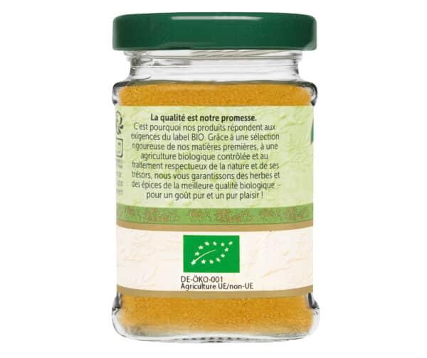 Curry bio - Flacon verre - BioWagner