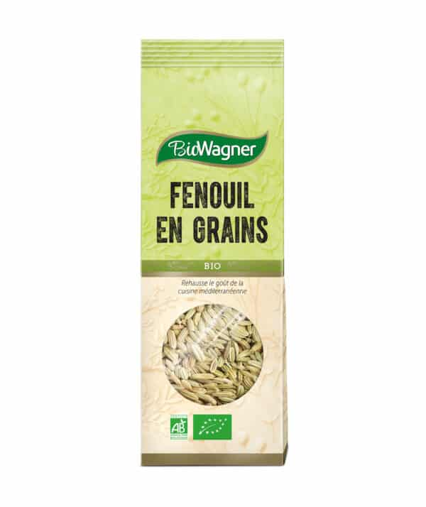 Fenouil en grains Bio - Sachet - BioWagner