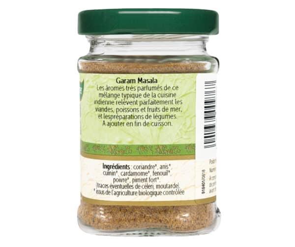 Garam Masala Bio - Flacons - BioWagner