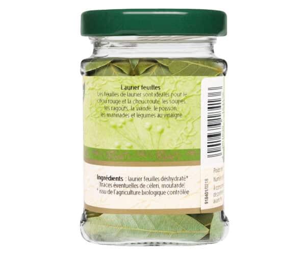 Laurier feuilles bio - Flacon verre - BioWagner
