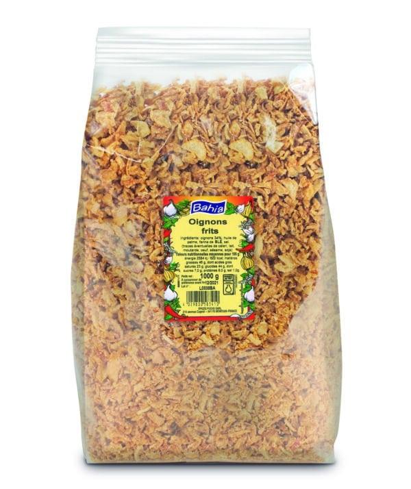 Oignons frits - Sachet 1kg - Bahia