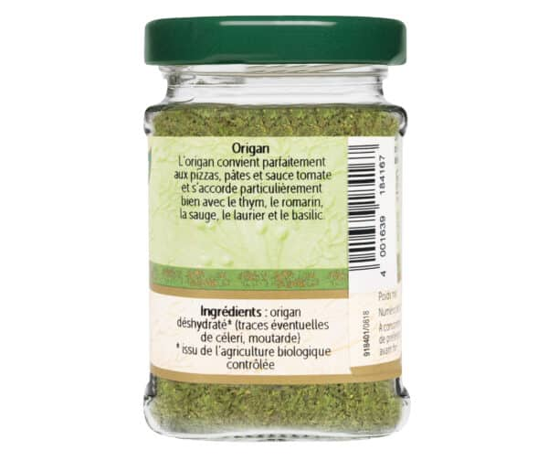 Origan bio - Flacon verre - BioWagner