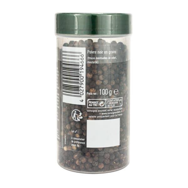 Poivre noir en grains - Tubo - Épices Fuchs