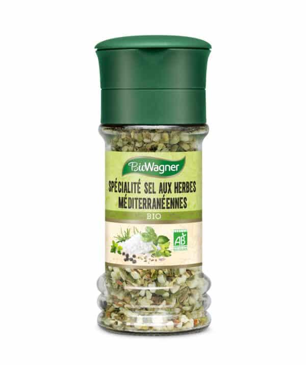 Sel aux herbes bio - Moulin - BioWagner