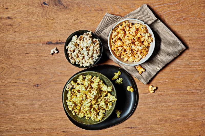Pop corn au curry