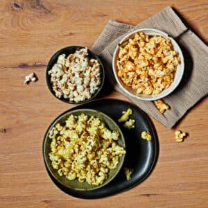 Pop corn aux oignons