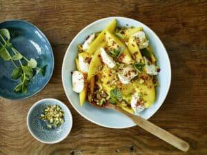 salade mangue mozzarella