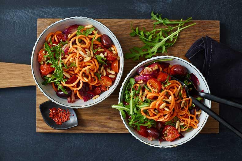 Spaghettis patate douce