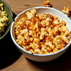 pop corn a la cannelle