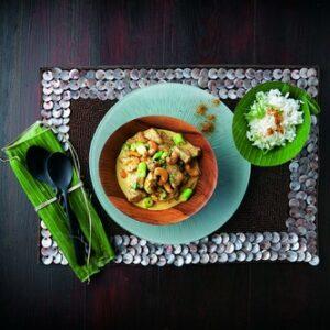 Curry de poulet à la cachemirienne